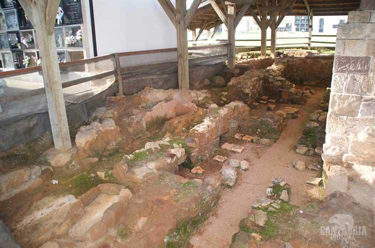Tepidarium termas romanas de parayas