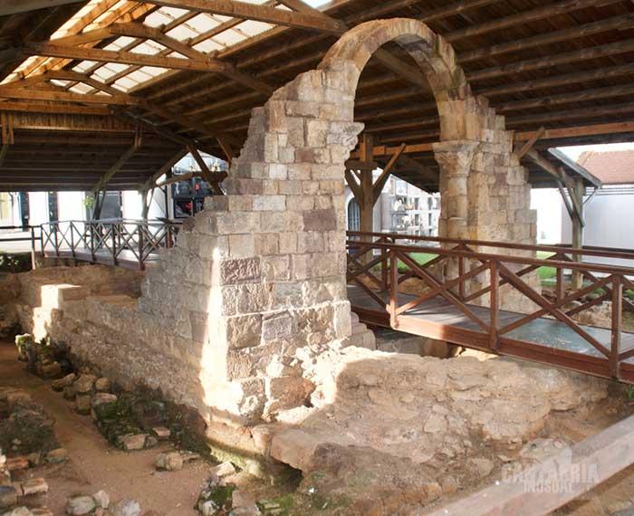 Las termas romanas de Parayas en Maliaño