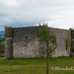 Parte trasera del Castillo de Agüero