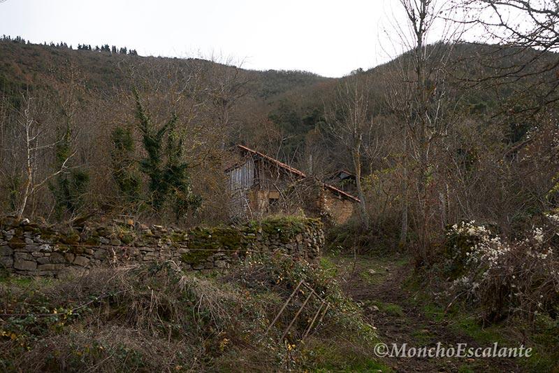 Camino de Entrada a Porcieda desde Potes