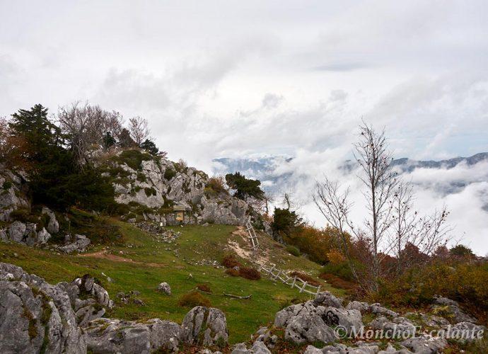 Vista de las Minas de Arceón