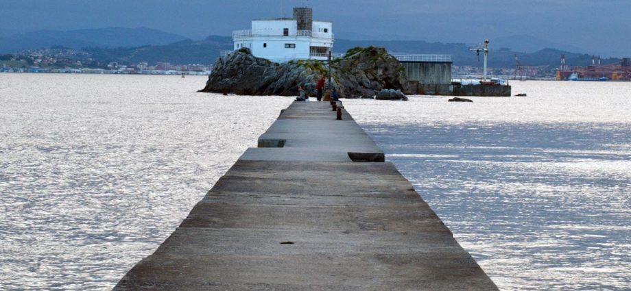 Isla de la Torre en Santander